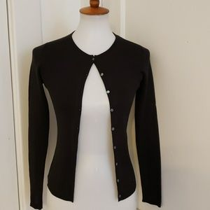 ANN TAYLOR 100% SILK SWEATER
